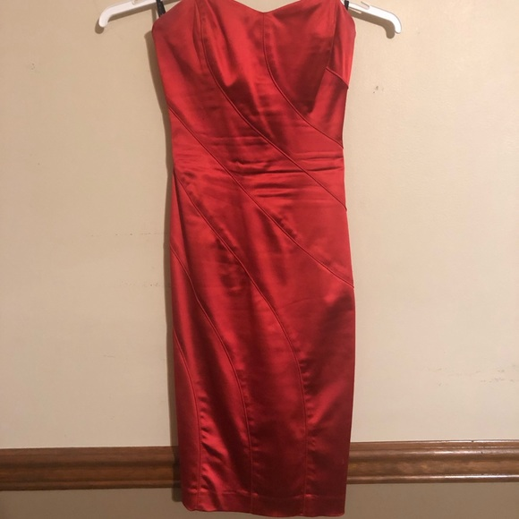 bebe Dresses & Skirts - Bebe Red special occasion form fitting dress